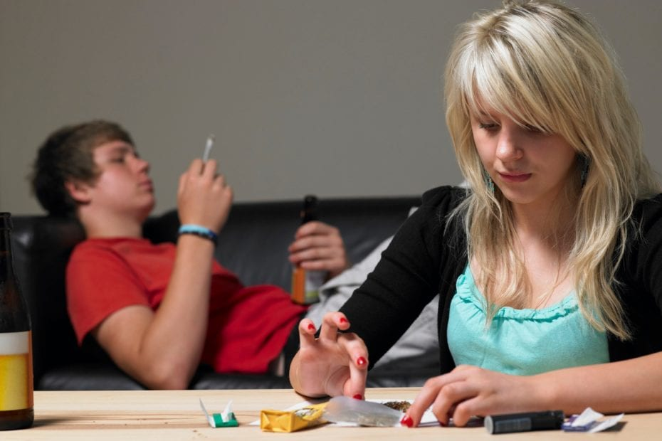 addiction and troubled teens